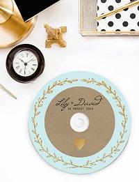 cadeau invités mariage cd