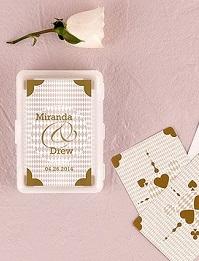 jeu de cartes personnalise mariage