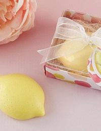 cadeau invité savon citron