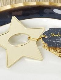 decapsuleur étoile cadeaux pour invités