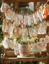 Offrez-un mouchoir personnalisé cadeau invité mariage
