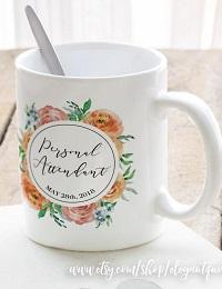 mug personnalisé cadeau invité