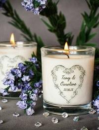 photophore mariage personnalisé cadeau invité