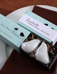 salière poivrière cadeau invité mariage