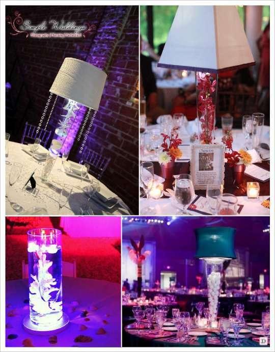 Idees centre de table lumineux - Pinterest centre de table ...