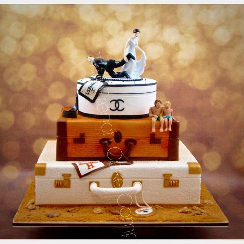 figurine gateau mariage pièce montée vvoyage