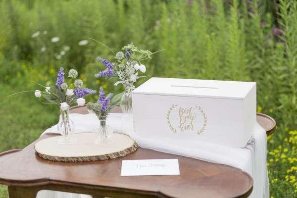 urne de mariage caisse en bois mariage champetre