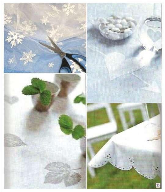 decoration table mariage chemin table pochoir perforatrice empreinte