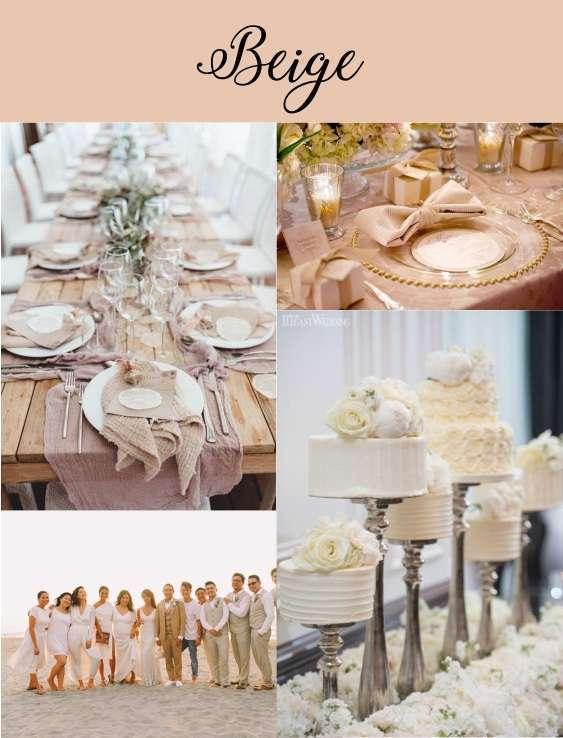 couleur mariage 2020 beige ivoire creme