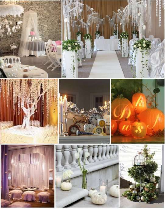 mariage contes de fee decoration table