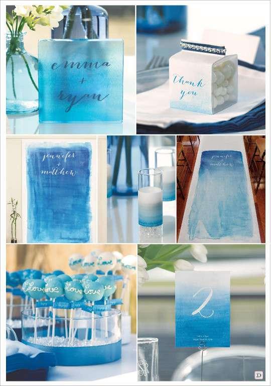 D coration ombre pour mariage - Numero de table pour restaurant ...