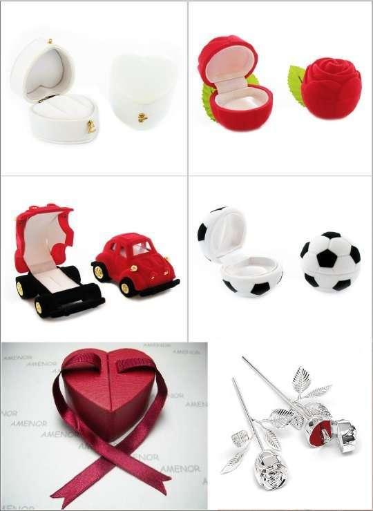porte alliances mariage boite écrin ballon de football voiture rose ...