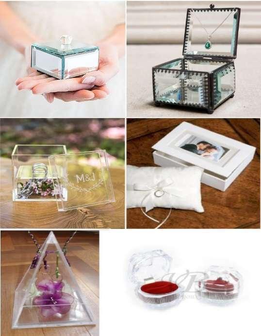 Idees porte alliances mariage - Boite acrylique transparente ...