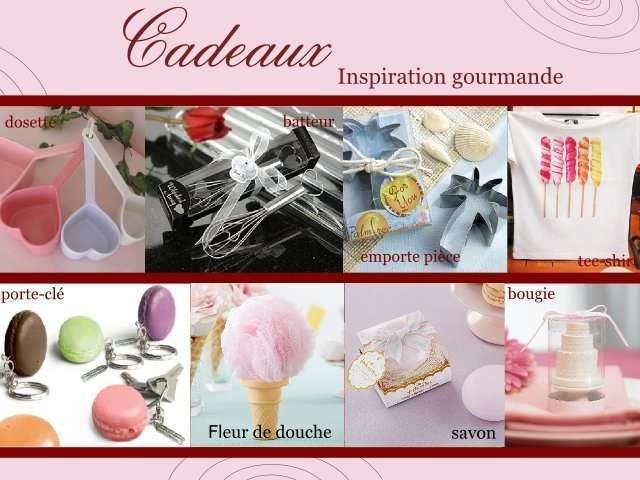 mariage gourmandise cadeaux invités batteau savon macaron glavece fleur dedouche