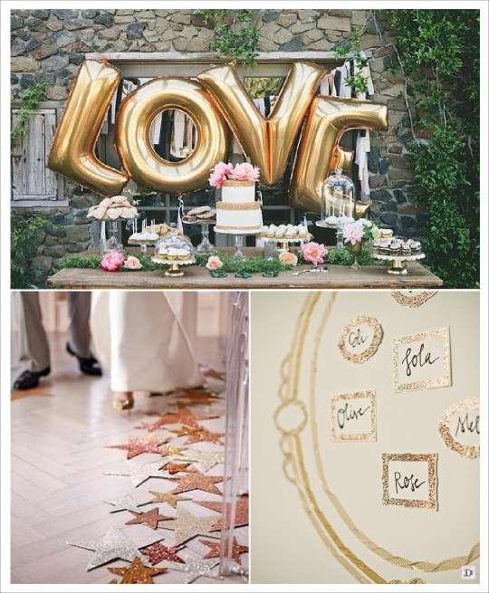 D coration mariage paillet glitter for Set de table paillete