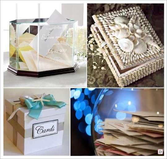 decoration mariage mer urne aquarium bocal