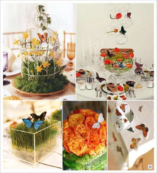 Decoration Table Printemps Mariage
