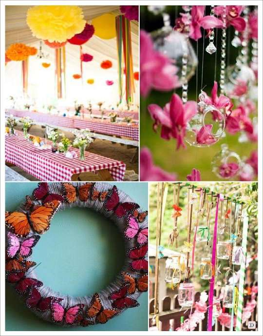 Mariage theme papillons idees deco for Papillon de decoration