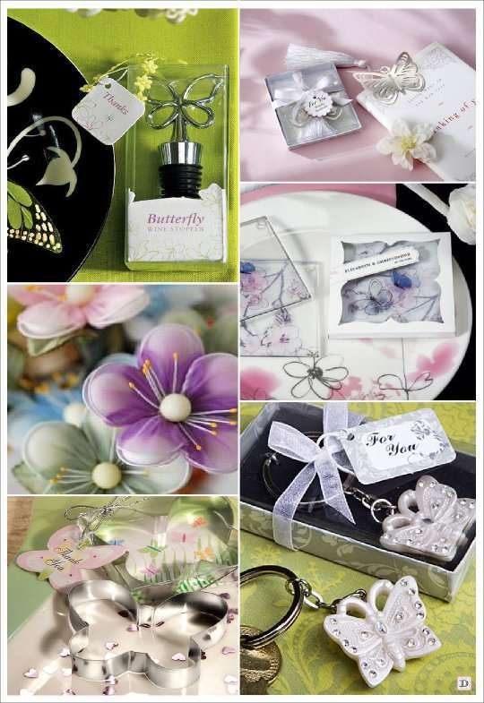 mariage theme papillons idees