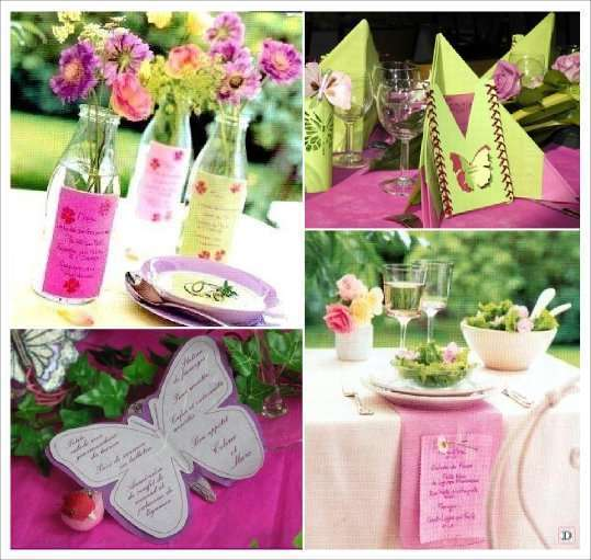 Turbo Mariage theme papillons : idees deco WJ37