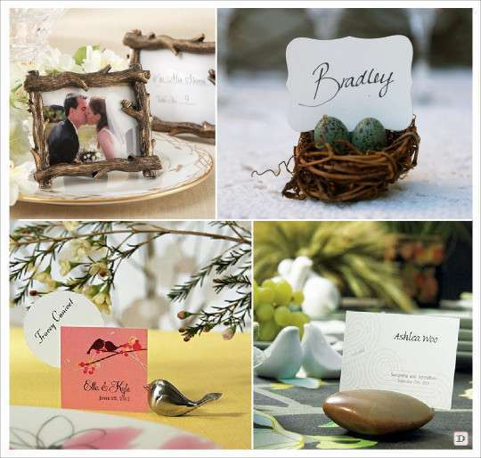 Decoration mariage rustique vive le bois for Decoration de table porte photo