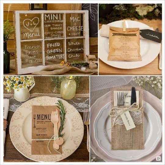 Super decoration mariage rustique : vive le bois CK01