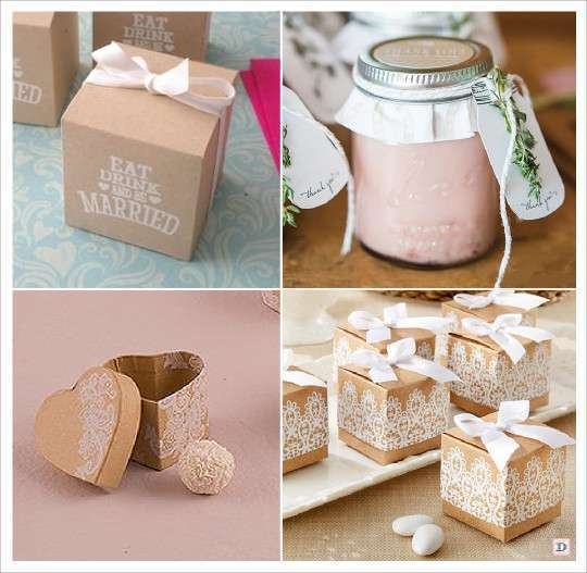 Decoration mariage rustique vive le bois - Cadeaux invites mariage fait maison ...