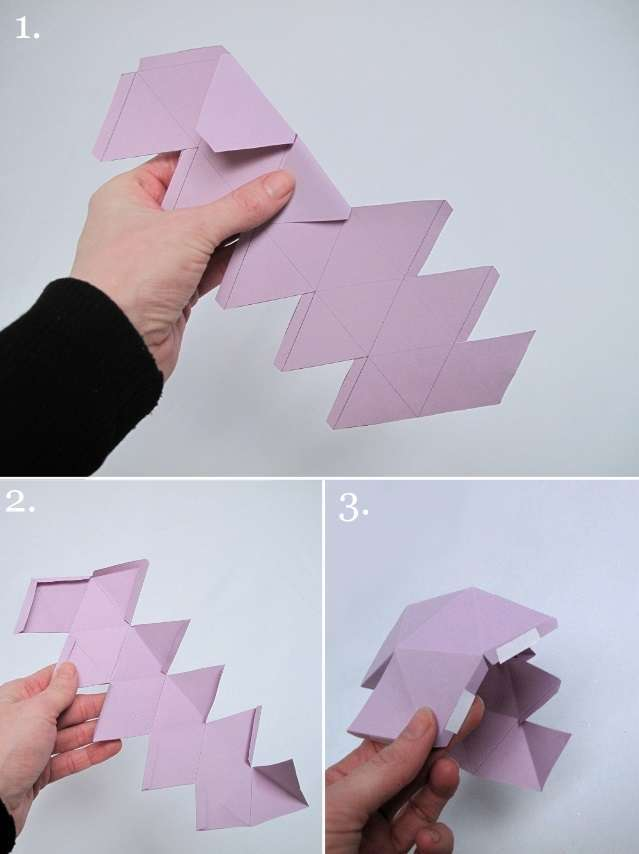 tutoriel boule hexagonale diy