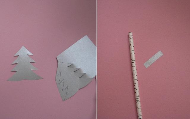 Fabriquer un sapin de noel en paille - Fabriquer des portes noms ...