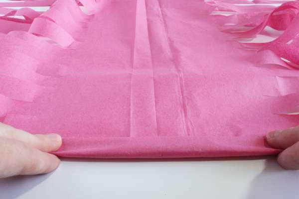 diy tassel garland guirlande papier