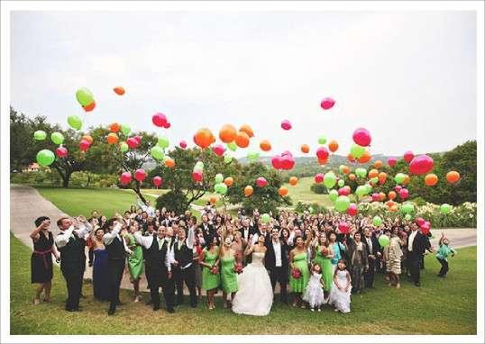 lacher ballons mariage - Lacher De Ballon Mariage