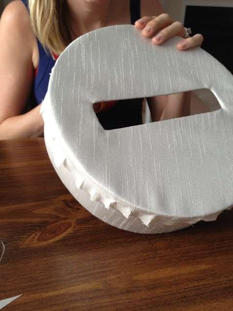 diy urne boite ronde papier mache explication