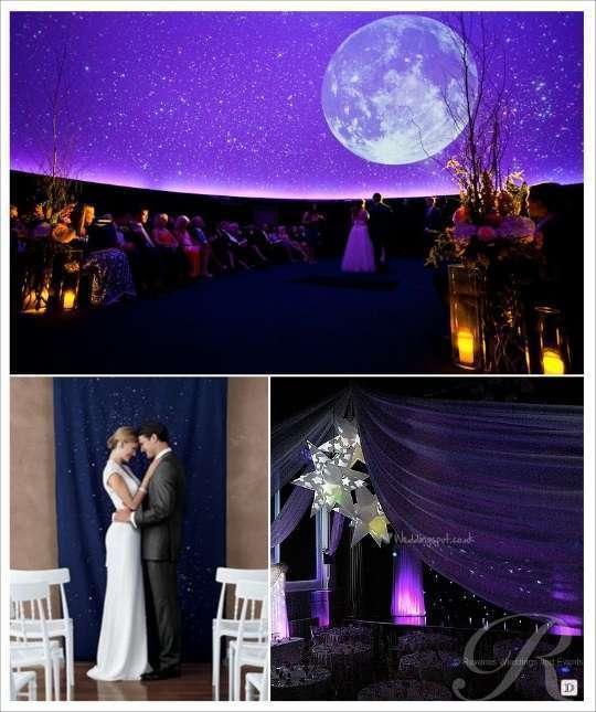 decoration de salle mariage étoile lanterne étoile rideau pailletté spot