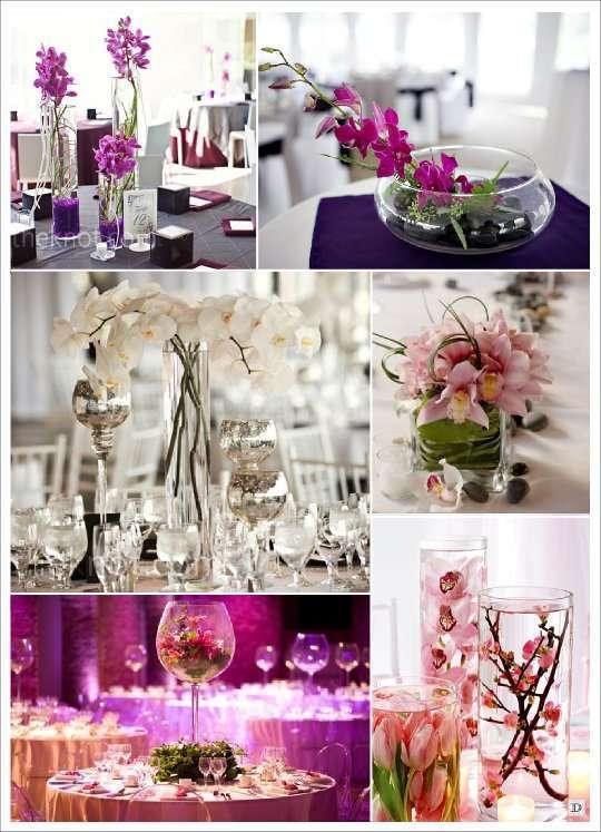 decoration de salle de mariage avec des fleurs. Black Bedroom Furniture Sets. Home Design Ideas