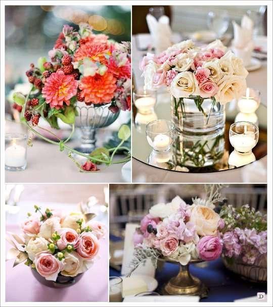 Fleurs mariage lesquelles choisir - Comment faire un centre de table pour mariage ...