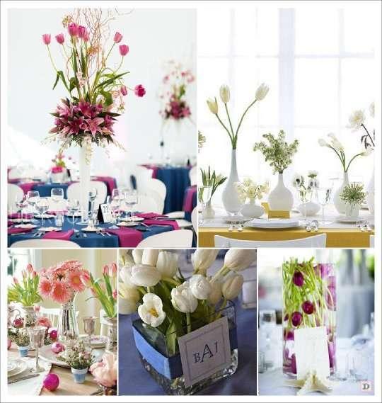 Fleurs mariage lesquelles choisir - Fleur mariage table ...