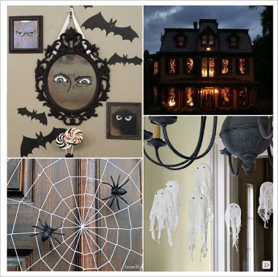 decoration halloween plein d 39 id es. Black Bedroom Furniture Sets. Home Design Ideas