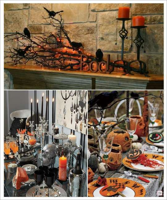 Decoration halloween idees - Decoration de table halloween ...