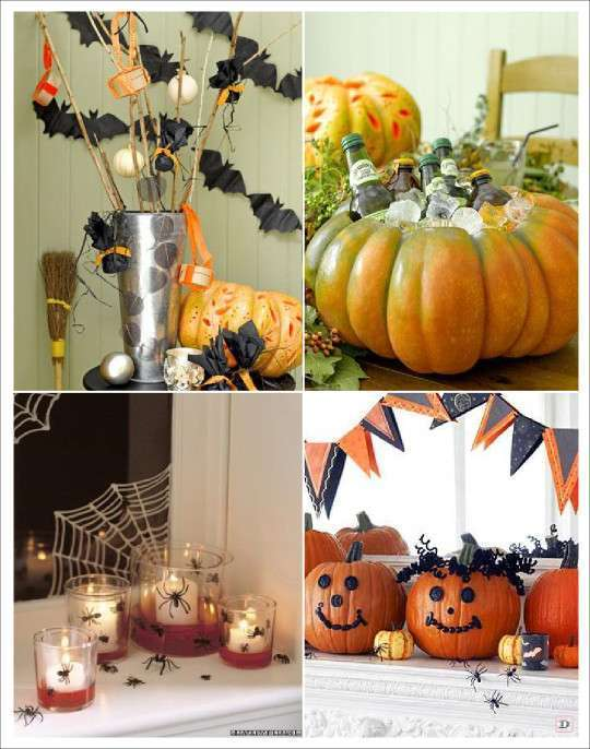 Decoration halloween plein d 39 id es for Decoration citrouille