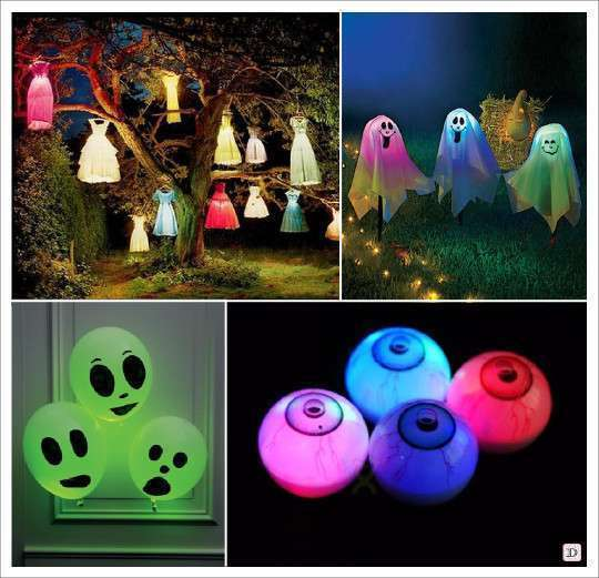 Decoration halloween plein d 39 id es for Decoration lumineuse
