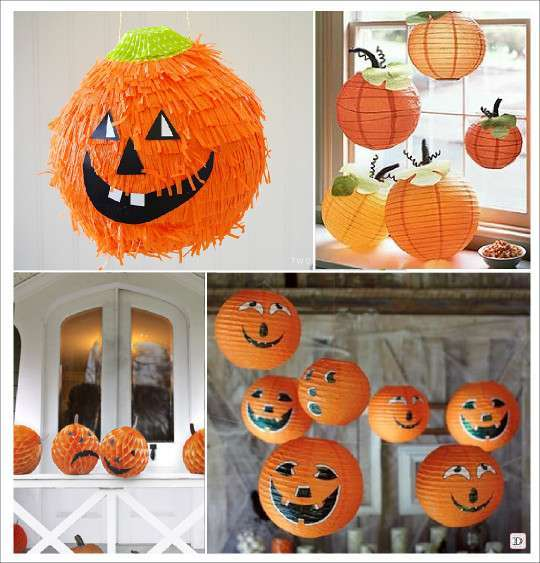 Decoration halloween plein d 39 id es - Decoration citrouille pour halloween ...