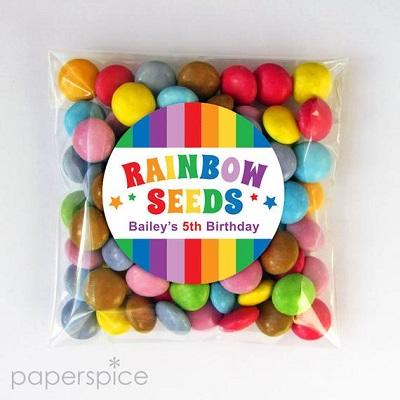 sachet-bonbons-graine arc en ciel candy bar