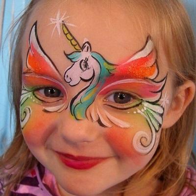 maquillage animation anniversaire licorne