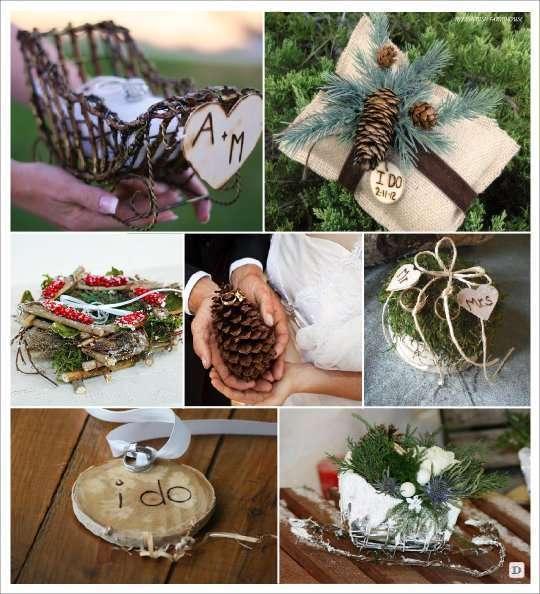Deco mariage theme hiver idees for Decoration de porte pour un mariage