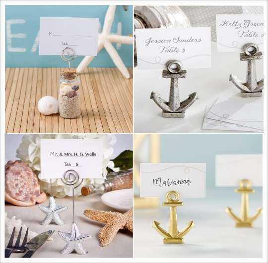 marque place mariage mer portenom ancre eprouvette tongs