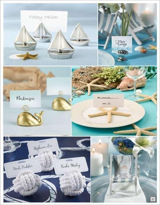 decoration mariage mer marque_place transat voilier ancre etoile demer