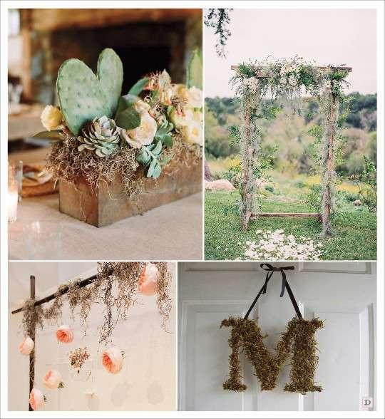 decoration_mariage_mousse_vegetale_espagnole_vase_centre_de_table_portique_decoration_suspendue
