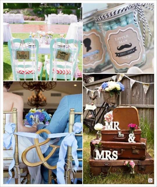 decoration_mariage_mrmrs_moustache_etiquette_mason_jar pancarte_chaise_ecriteau