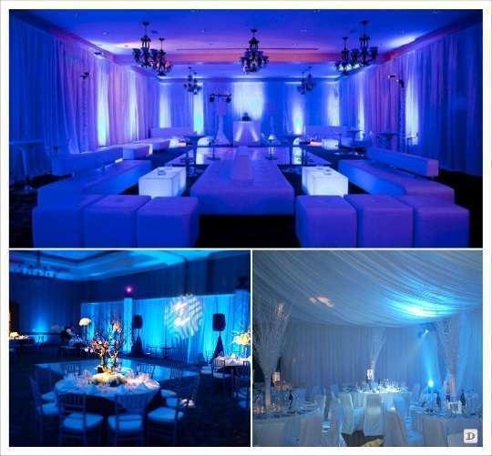 decoration salle mariage eclairage
