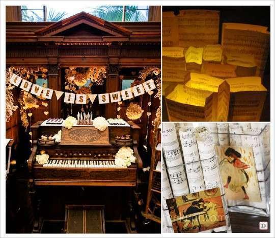 Theme mariage musique : Plein d'idées